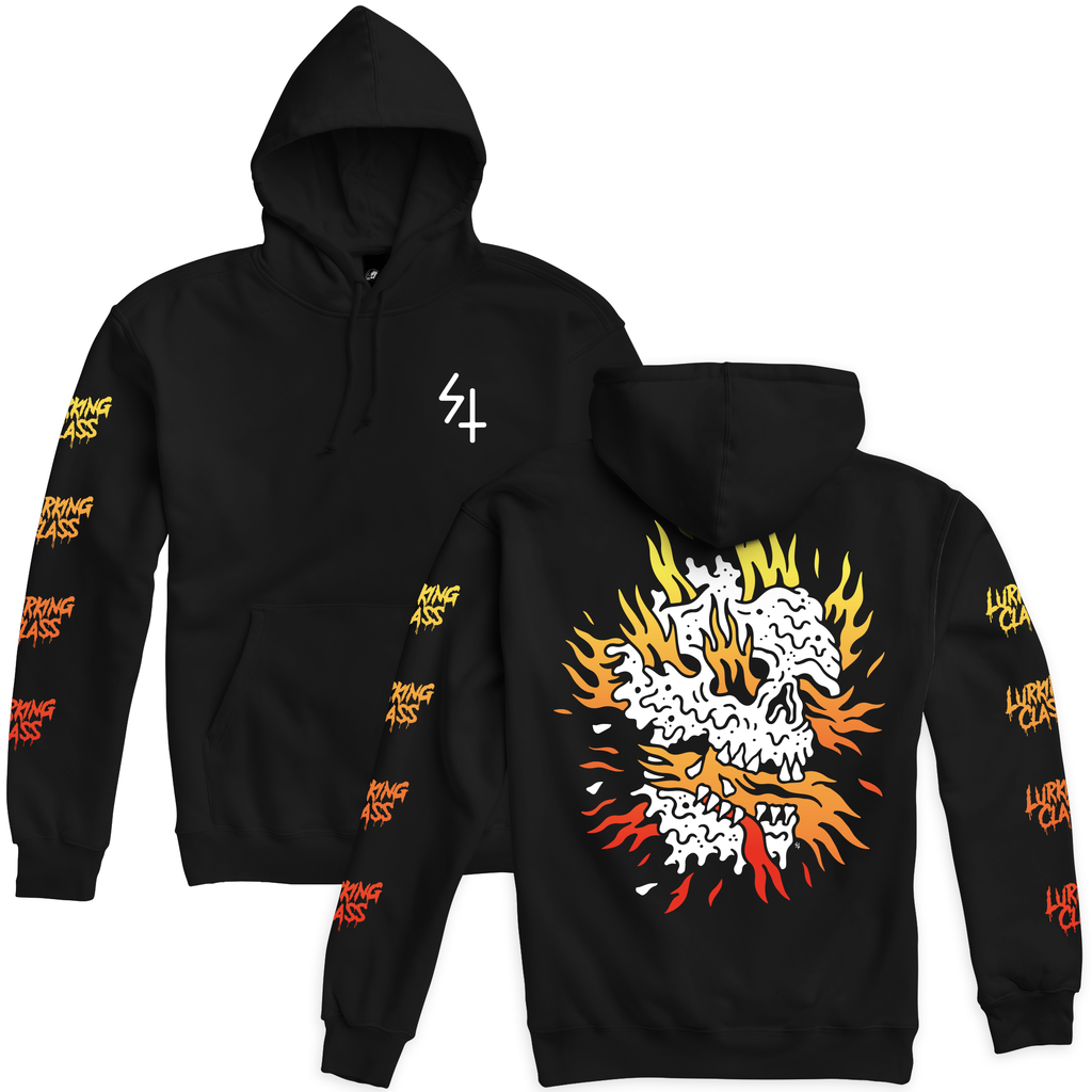 Inferno Pullover Hoodie - Black