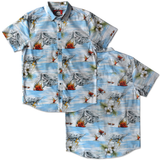 Tropics Button Down Shirt