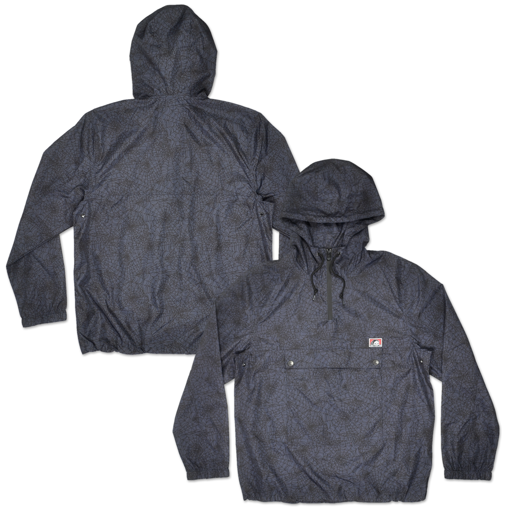 Spiderweb Anorak - Grey/Black