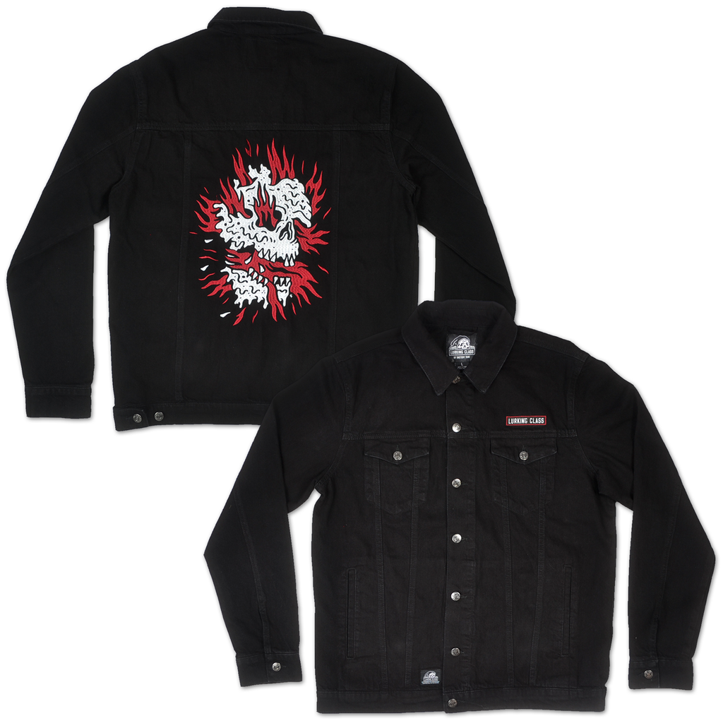 Inferno Denim Jacket - Black