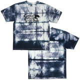 On The Prowl Tee - Grey Tie Dye