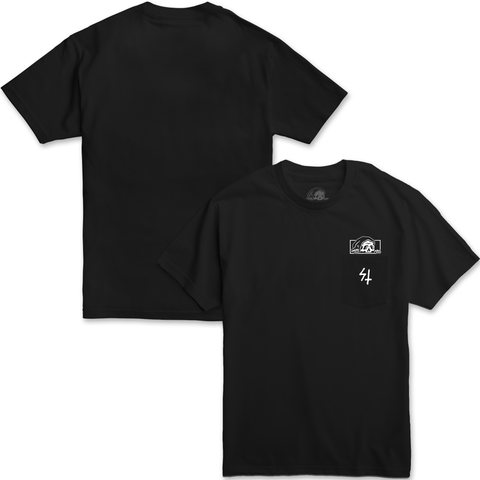 LC High Density Pocket Tee - Black