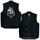 Lurkwear Loose Lips Vest - Black