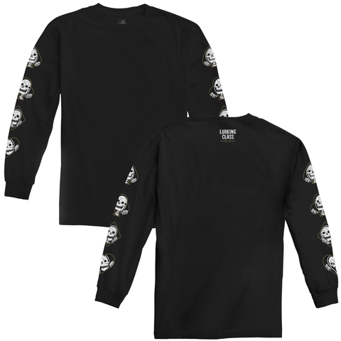 Suits Long Sleeve Tee - Black