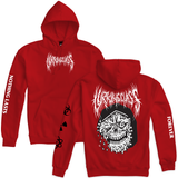 Nothing Pullover Hoodie - Red