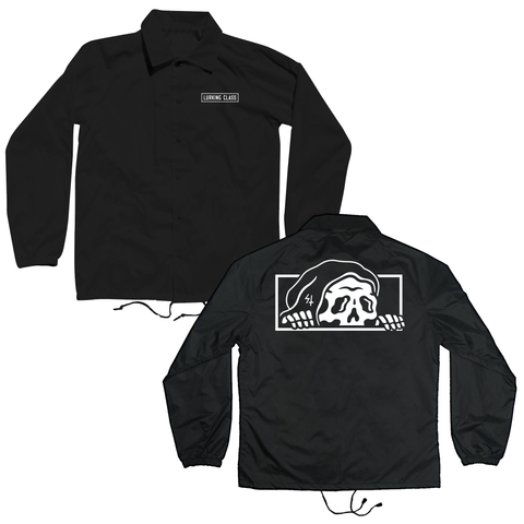 Lurker Coaches Jacket - Black