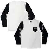 Suits Pocket Long Sleeve - Black/White