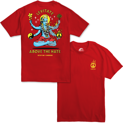 Samborghini x Lurking Class Collab Tee - Red