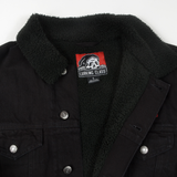 Balance Sherpa Lined Denim Jacket - Black