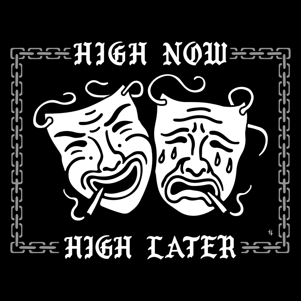 High Now High Later Tee - Black