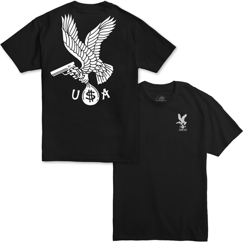 Eagle USA Tee - Black
