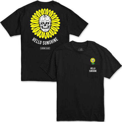 Sunshine Pocket Tee - Black