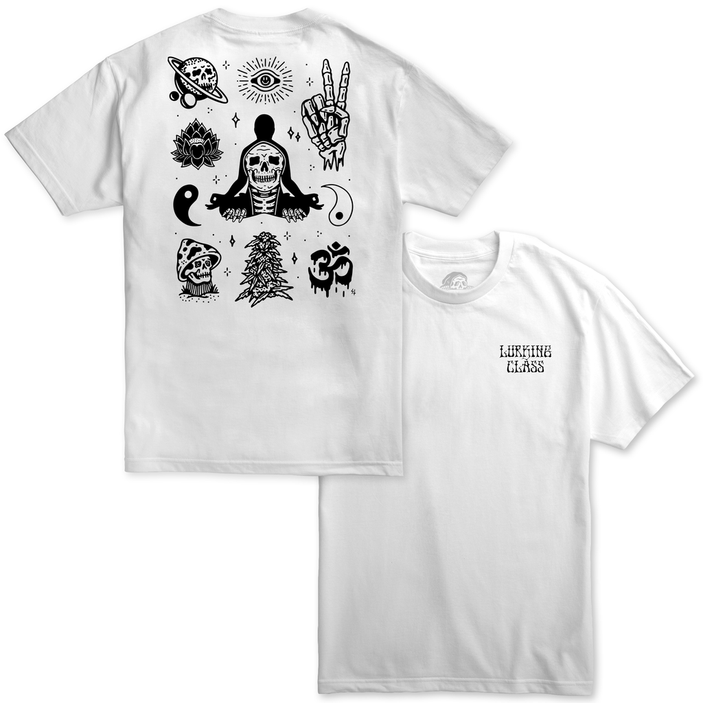 Peace Flash Tee - White