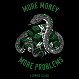 Money Problems Long Sleeve Tee - Black
