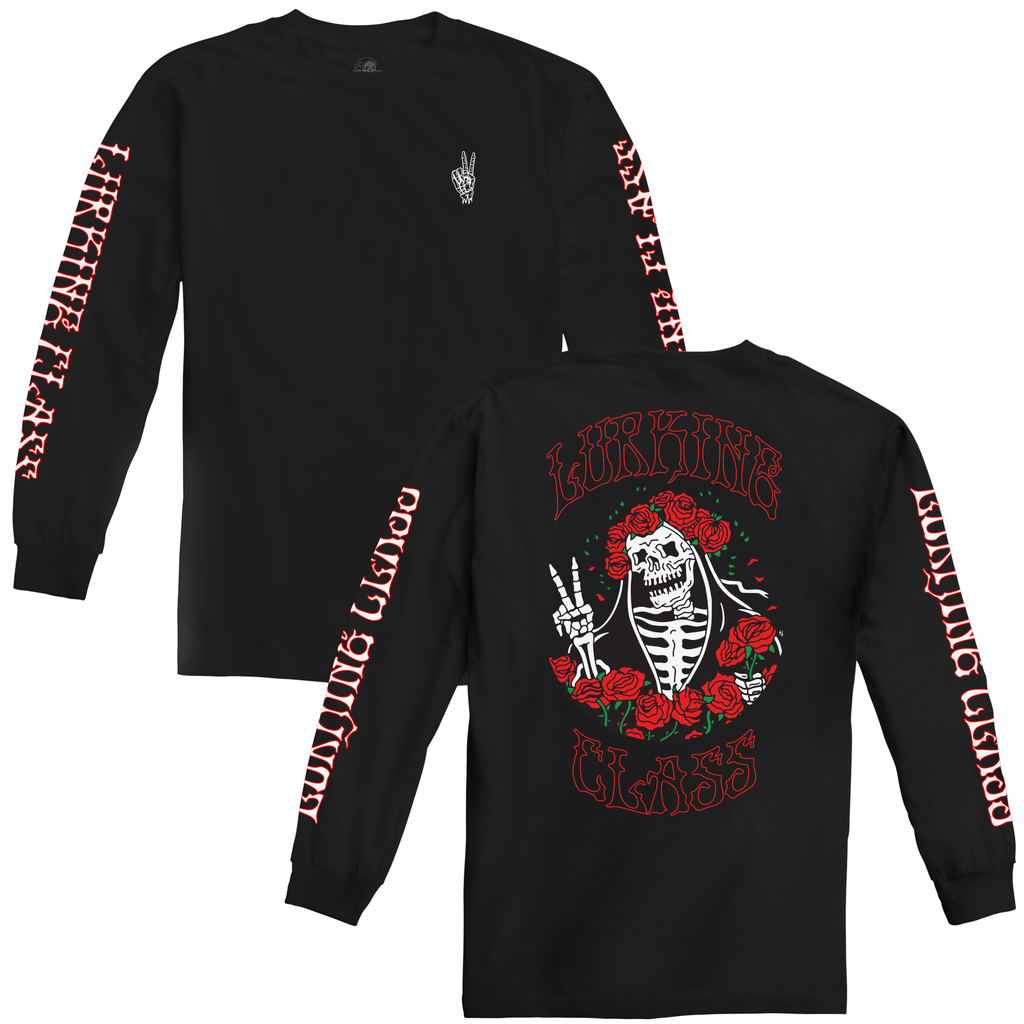 Dertha Long Sleeve Tee - Black
