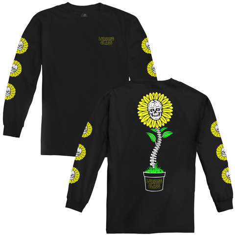 Sunshine Long Sleeve Tee - Black