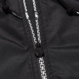 Chains Zip Up Windbreaker - Black/Grey