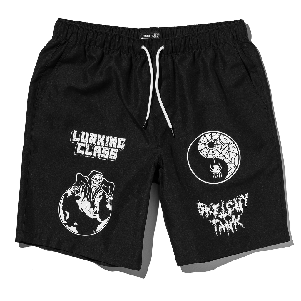 Worldwide Hybrid Short - Black