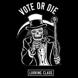 Vote Or Die Tee - Black