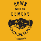 Down With My Demons Pullover Hoodie - Yellow