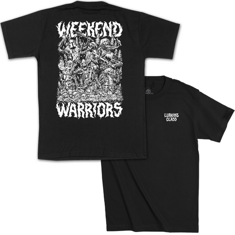 Weekend Warrior x Matt Stikker Tee - Black