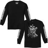 Fun Guy x Matt Stikker Long Sleeve Tee - Black