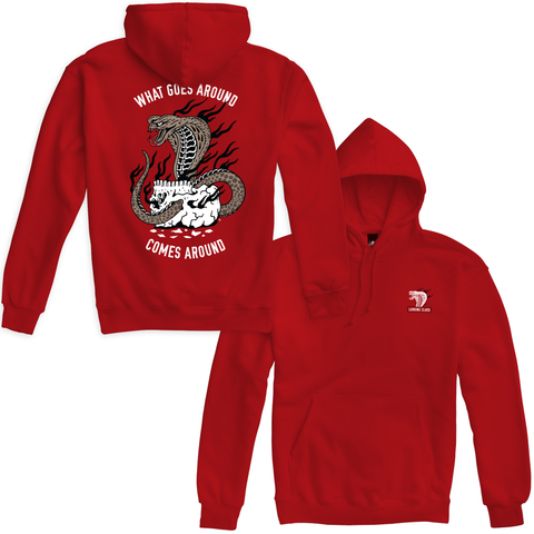 Cobra Fire Pullover Hoodie - Red