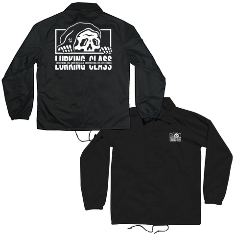 Torn Coaches Jacket - Black