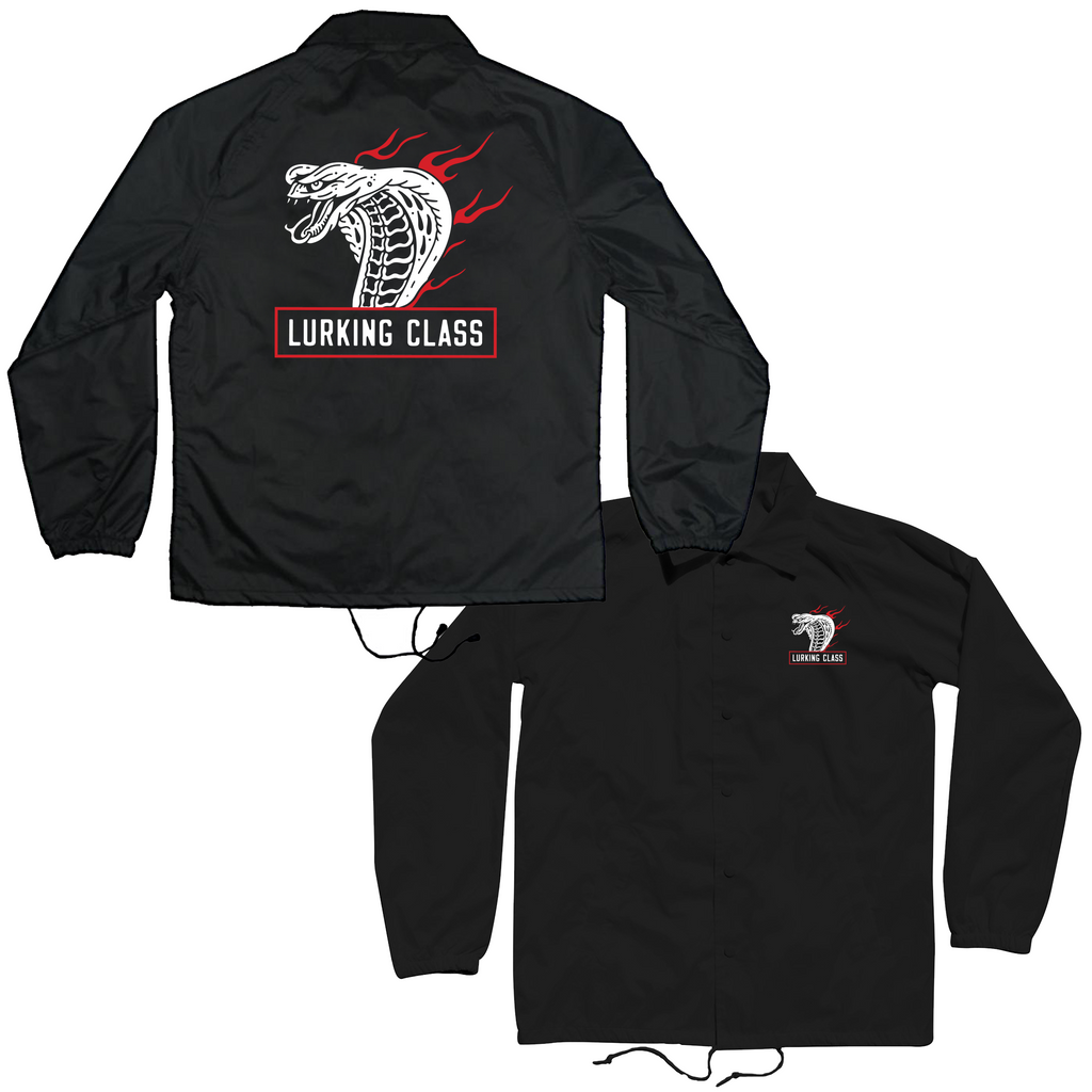 Cobra Fire Coaches Jacket - Black