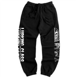 Crossbones Sweatpants - Black