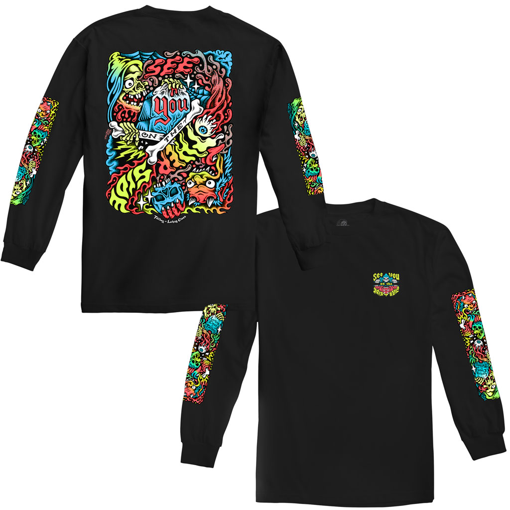 Tallboy Other Side Long Sleeve - Black