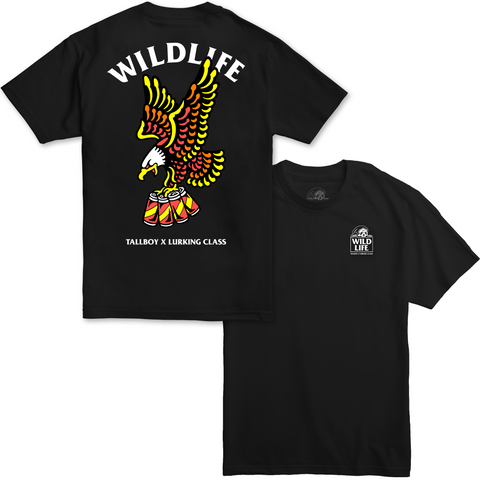 Tallboy Wildlife Tee - Black