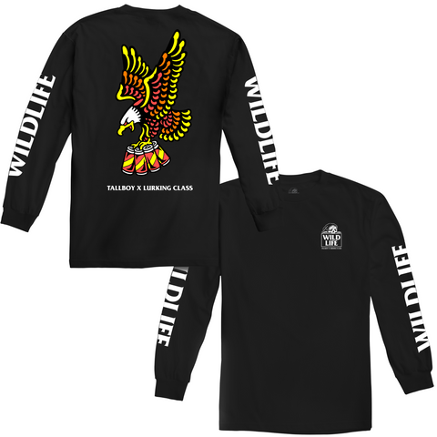 Tallboy Wildlife Long Sleeve - Black