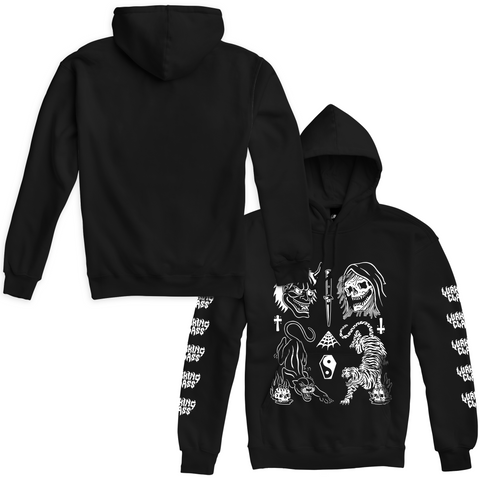 Cat Flash Hoodie - Black