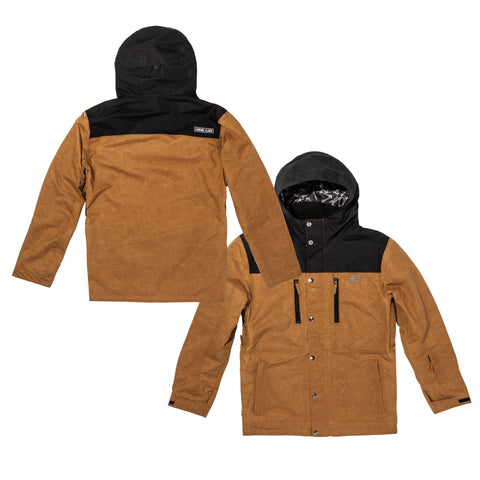Lurkwear Snow Jacket - Tan/Black