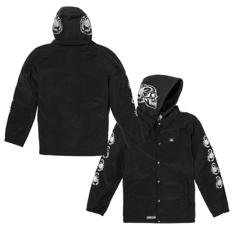 Scorp Snow Coaches Jacket - Black