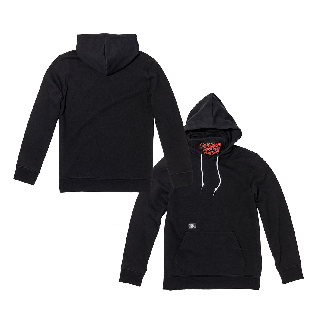 Lurking Class Pullover Face Mask Hoodie - Black