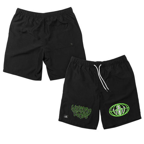 Pandemic Hybrid Short - Black