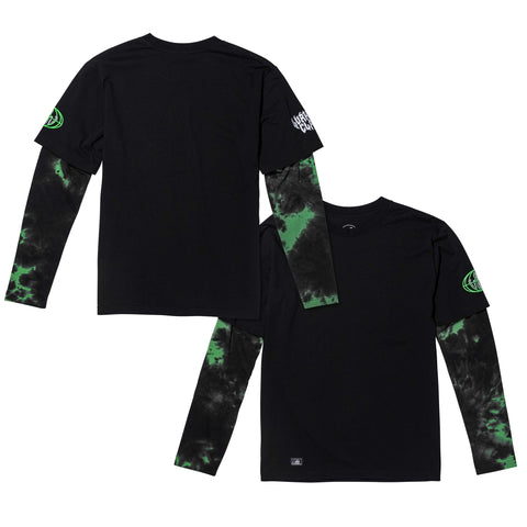 Pandemic Layered Long Sleeve - Black