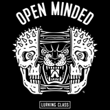 Open Minded Tee - Black