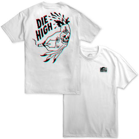 Die High 3D Tee - White