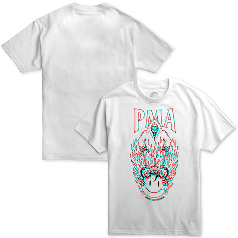 PMA Worldwide 3D Tee - White