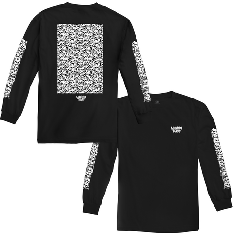 Skulls Long Sleeve - Black