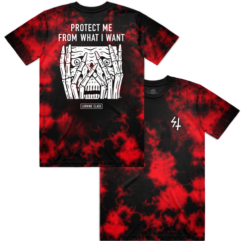 Protect Tee - Red Tie Dye