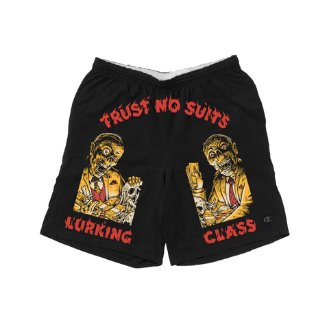Trust No Suits x Matt Stikker Collab Shorts - Black