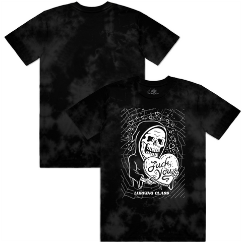 Fuck You Tee - Black Tie Dye
