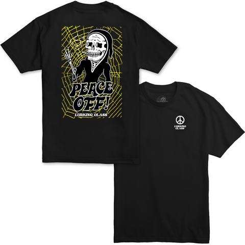 Peace Off Tee - Black