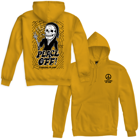 Peace Off Hoodie - Yellow
