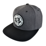 Karma 2 Snapback Hat - Dark Grey / Black