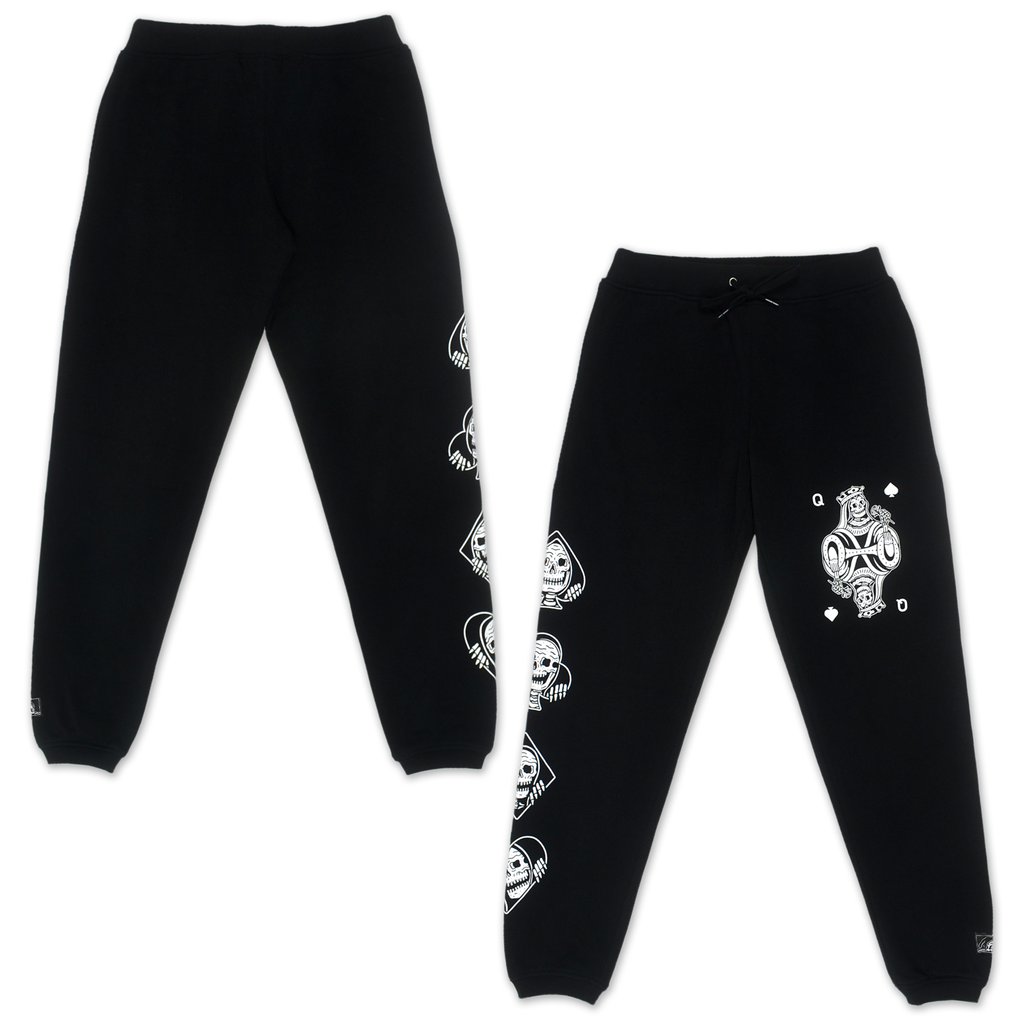 Queen Women's Sweatpants - Black